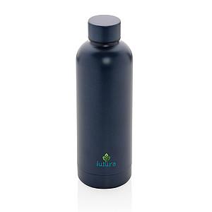Nerezová dvoustěnná termo láhev Impact, modrá