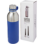 Nerezová sportovní láhev s vakuovou izolací, objem 590 ml, bílá