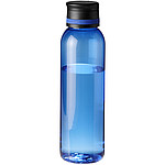 Průhledná tritanová sportovní láhev na pití, objem 740 ml, antracitová