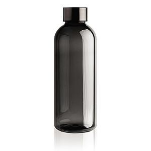 Nepropustná lahev s kovovým uzávěrem, černá