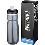 Sportovní tvarovaná láhev, objem 620 ml antracitová