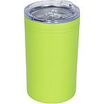 Termohrnek a termoska s vakuovou izolací, objem 330 ml, oranžová