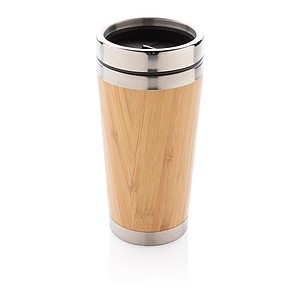 Bambusový termohrnek, hnědá