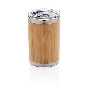 Bambusový termohrneček Coffee to go, hnědá
