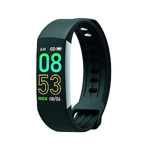 TORREON Černý fitness náramek s mnoha funkcemi