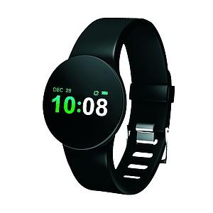 FURBO Stylové sportovní hodinky s tlakoměrem, černá