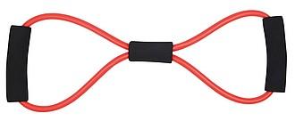 Elastická guma s úchopy na cvičení