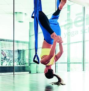Závěsná síť na cvičení jógy či pilates