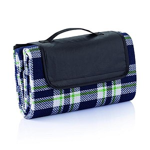 TAMPINA Pikniková deka v tradičním stylu, modrobílá