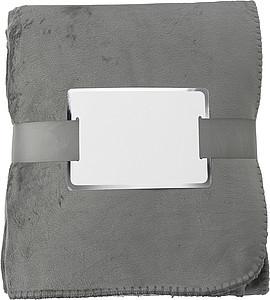 PADMA Hřejivá deka, 120 x 155 cm, šedá