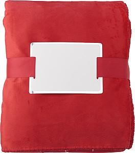PADMA Hřejivá deka, 120 x 155 cm, červená