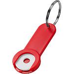 KARTUS Kovová klíčenka karabinka, červená
