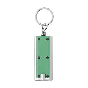 BOCHON Přívěsek na klíče se světlem, zelený