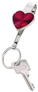 SINDAR Přívěšek a háček na klíče do kabelky