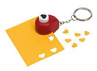 Klíčenka s děrovačkou ve tvaru srdce