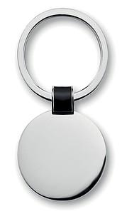 Kovová klíčenka ve tvaru kolečka