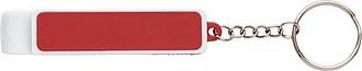 ENDER Přívěšek na klíče s otvírákem a stojánkem na mobil, červený