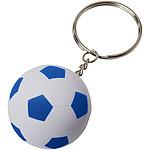 Fotbalový přívěsek na klíče, bílá/černá