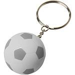 Fotbalový přívěsek na klíče Striker, bílá