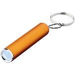 Baterka s podsvíceným logem s možností zavěšení klíčů, červená