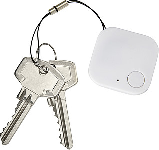 SESIMBRO ABS Bluetooth GPS vyhledávač pro sledování ztracených věcí, bílá