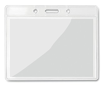 Transparentní kapsa na vizitky