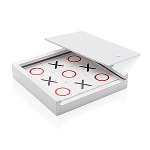 Piškvorky v dřevěné krabičce, bílá