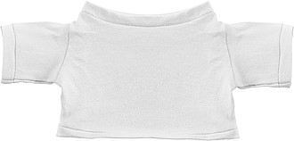 MINITRIKO Tričko bílé pro medvídka