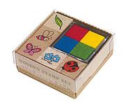 FANCY Sada razítek s barevnými polštářky na obtiskování