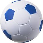 Antistresový fotbalový míč, bílá/červená