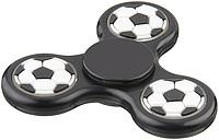 Fidget spinner s fotbalovým designem, černá