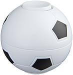 Antistresový rotující míč do ruky, bílá/černá