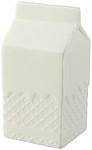 Antistresová krabice od mléka, bílá
