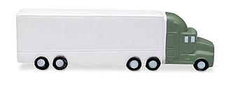 Antistresová pomůcka ve tvaru nákladního auta