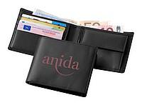 Klasická kožená peněženka, černá
