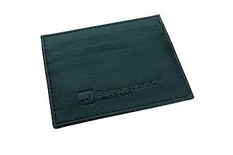 SCHWARZWOLF NAMAK PU černé pouzdro na karty 10x8,3 cm - reklamní trička