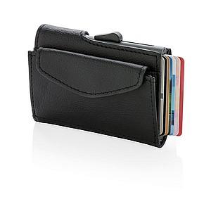 GANGO RFID pouzdro C-Secure na karty, bankovky a mince, černá