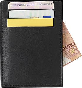 WERNUT Kožený obal s RFID ochranou na kreditní karty