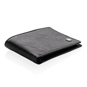 Peněženka s RFID ochranou, černá