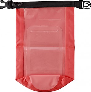 PALINGES Voděodolný obal na drobnosti a mobil, červený