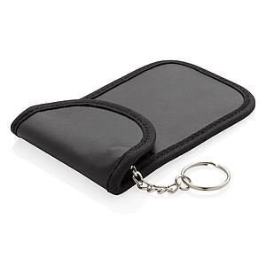 RFID pouzdro na klíče od auta, černá