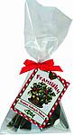 Vánoční františky, 20 g, červená