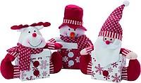 HUHLA Vánoční krabice s 3D postacičkou Santa Clause