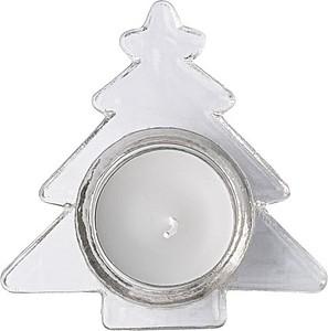 ARETE Svícen tvaru stromečku, se svíčkou