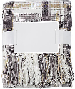 BARDOS Měkká a hřejivá deka z jemné žinylové tkaniny (285 g/m2), 100% polyester, hnědá