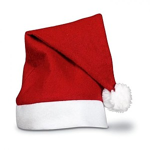 Vánoční čepice, červená