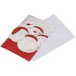 Pohlednice Santa s obálkou