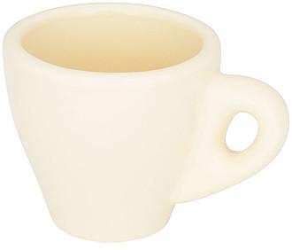 Perk barevný espresso hrnek, světle žlutá