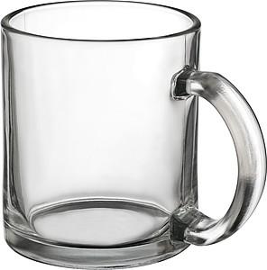 NAWINDI Skleněný hrnek pro všechny druhy nápojů, 300 ml - reklamní hrnky