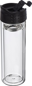 Skleněná lahev s dvojitou stěnou, 600ml